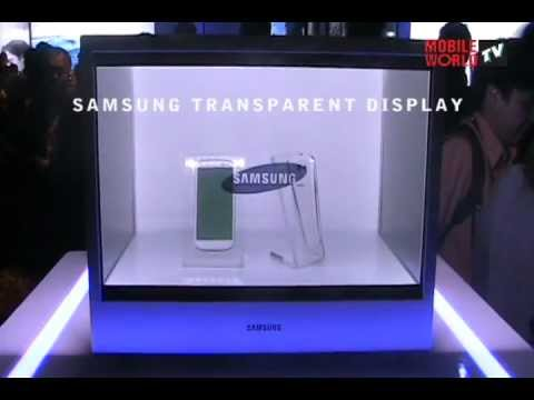 Samsung Transparent LCD Panel spotted in Malaysia - 2012