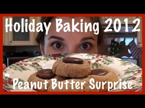 Holiday Baking 2012, Peanut Butter Surprise