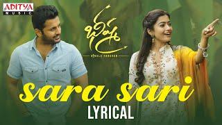 Sara Sari Lyrical | Bheeshma