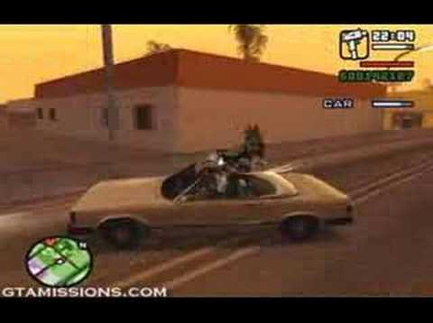 GTA: San Andreas - ps2 - 104 - End of the Line [3/3]