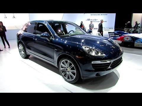 2013 Porsche Cayenne Diesel Exterior and Interior - Debut at 2012 New York International Auto Show