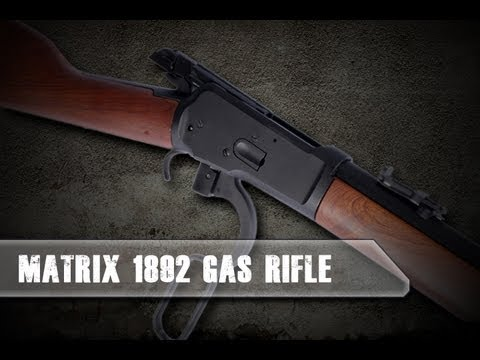 Airsoft Evike.com- 1892 Airsoft Gas Lever Action Rifle