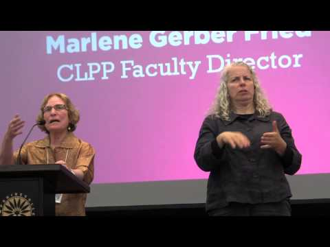 Marlene Gerber Fried: Speaking Out for Reproductive Freedom, 2013