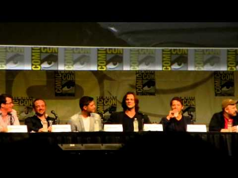 Comic Con 2012 Supernatural Panel Clip 1