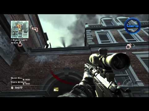 "MW3 - Spec Ops ""Survival Mode"" Underground LIVE Part 1! - (Call of Duty Modern Warfare 3)"