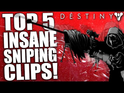 Destiny: Insane Top 5 Sniping Clips Of The Week / Episode 36