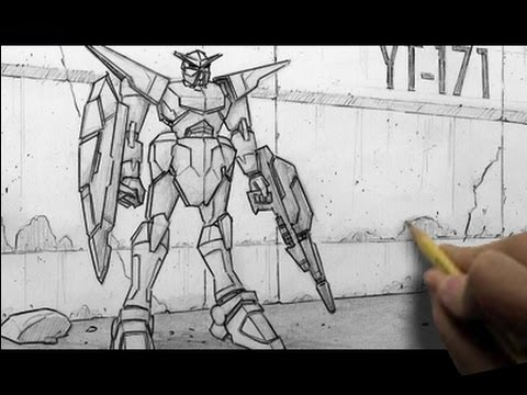 How to Draw Mecha/&quot;Gundam-Like&quot; Characters
