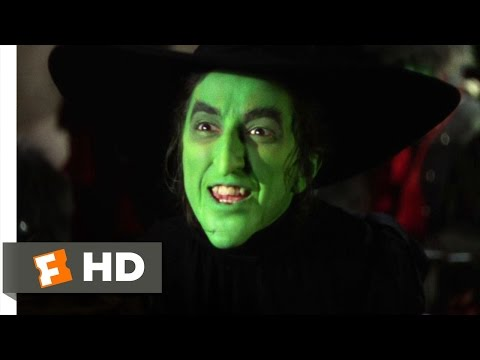 I'm Melting! Scene - The Wizard of Oz Movie (1939) - HD