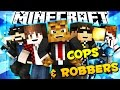 Minecraft COPS AND ROBBERS w/ Team Crafted (REUNION)