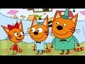 Фрагмент с конца видео - Три кота - Ресторан - 70 серия