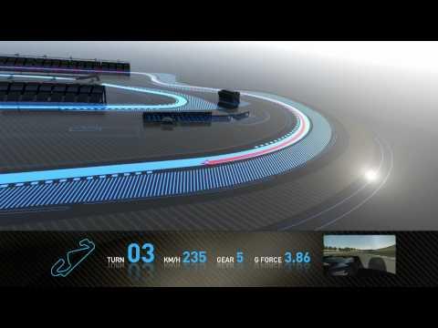F1 Track Simulator  Mark Webber at Barcelona - UCblfuW_4rakIf2h6aqANefA
