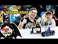 Папа Роб, Ярик и Бэтмен ловят Жeнщину Кошку! Сборка #LEGO BATМАН MOVIE!