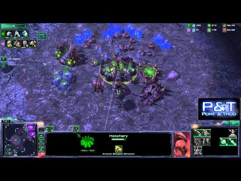 (HD453) MUST SEE !! Tutorial - ZvT - Violet Push - Starcraft 2 [FR]