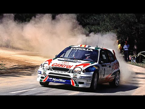 Toyota Corolla WRC tarmac action - with pure engine sounds -asiXc4UyZJ0