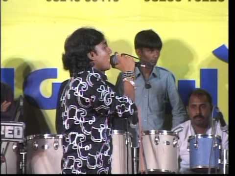 Live Gujarati Garba Songs Lions Club Kalol City - Rohit Thakor - Day 6 - 2012 Part - 3