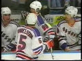 Ulf Samuelsson knocks out Wayne Gretzky's wife