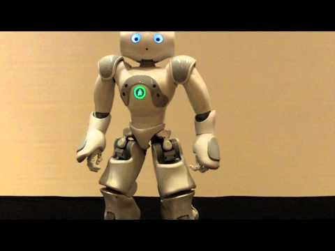 Nao Robot Does Star Wars