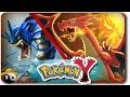 Pokémon X Y #18 ☯ SOL! FOGO! MEGA CHARIZARD!