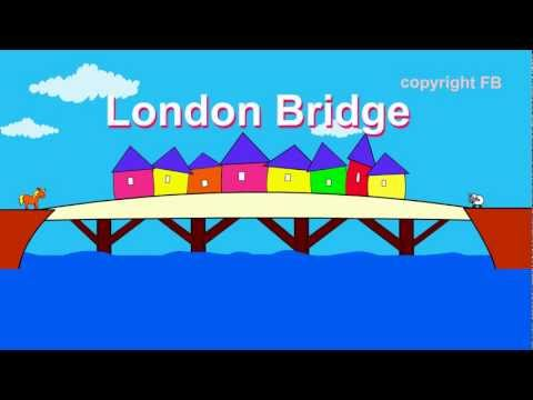 Nursery rhymes - London Bridge is falling down -avCXICgrEkI