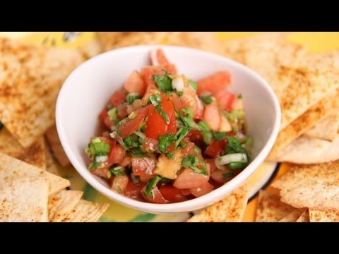 Homemade Pico de Gallo Salsa Recipe - Laura Vitale - Laura in the Kitchen Episode 379