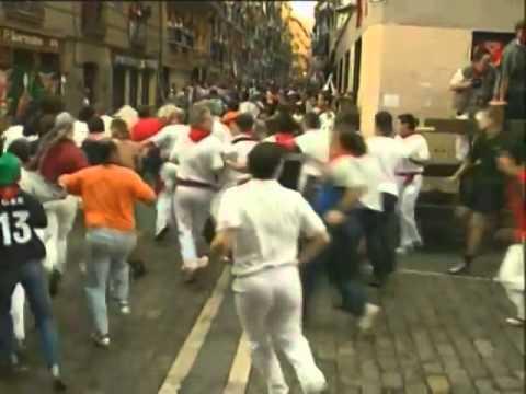 Encierro de San Fermín día 11 de Julio de 2003 480p
