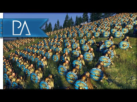BRUTAL DWARF HILL DEFENSE - Total War: WARHAMMER Gameplay - UC45a_j76kNDwJvbc2ufOkJg