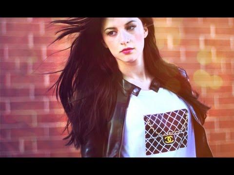 Style Sketchbook: DIY Chanel Bag T-Shirt (Gift Idea)