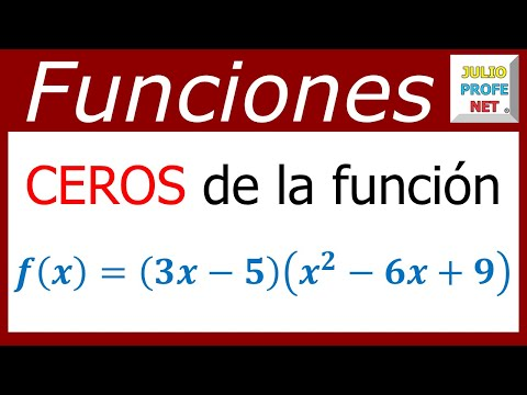 Ceros de una función polinomica