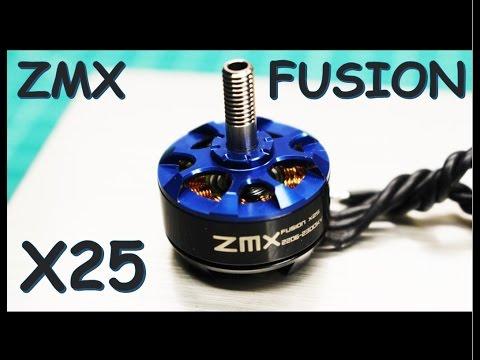 "ZMX Fusion X25  2206 2300kv Thrust Test ""Motor Test Series"" - default"