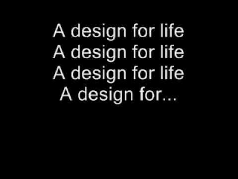 Manic Street Preachers - A Design For Life - LYRICS