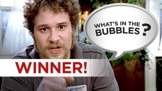 The 40 Year Old Virgin Winner - What's in the Bubbles? HD