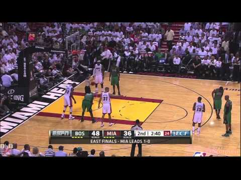 NBA Playoffs 2012 - Rajon Rondo 44 points, 8 rebounds & 10 assists @Miami in Game 2 [HD]