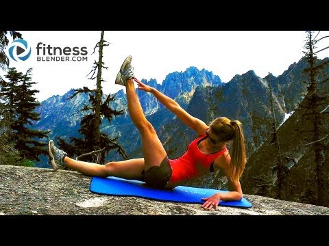 Mountain Top Abs Workout -- Toning Abs & Obliques Workout