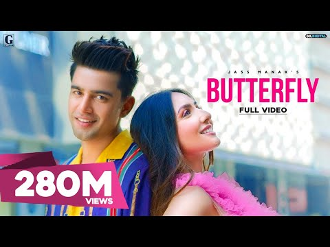 Butterfly : Jass Manak (Official Video) Satti Dhillon | Latest Punjabi Songs | GK DIGITAL | Geet MP3