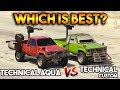 GTA 5 ONLINE : TECHNICAL CUSTOM VS TECHNICAL AQUA (WHICH IS BEST?)