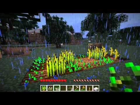 Minecraft 1.0 Prerelease Test (Red apples drop from trees!)