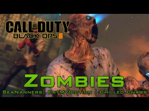Zombies #3 with SeaNanners, Diction, Chilled (Black Ops 2)