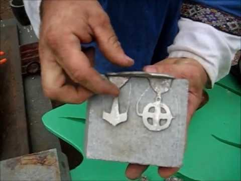 Metal Casting Process Medieval Style