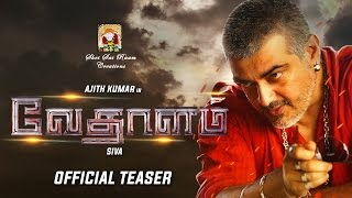 Watch Vedalam Official Teaser Red Pix tv Kollywood News 09/Oct/2015 online