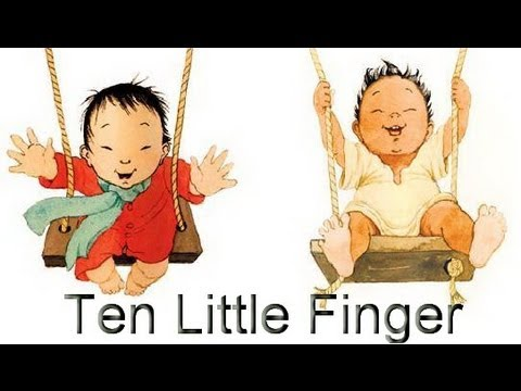 English Nursery Rhymes - Ten Little Finger - Kids Song Video