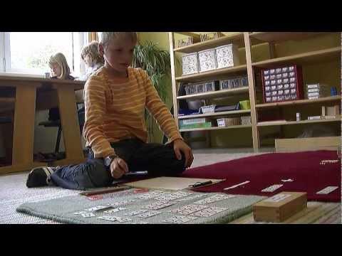 Lernen nach Maria Montessori