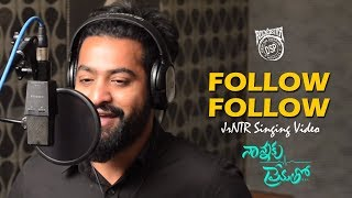 Follow Follow Song Making | Nannaku Prematho