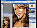 Rihanna speed painting photoshop - By SEM
