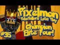 Pixelmon Server Minecraft Pokemon Mod Pokeballers Lets Play! Season Finale Champion Battle Ep 35