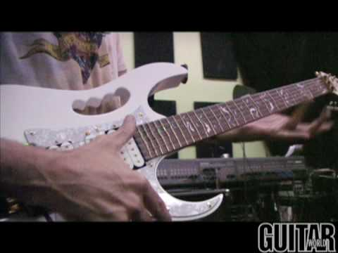 Private Gear Tour: Steve Vai