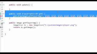 Java Game Tutorial - 2 - Adding A Player