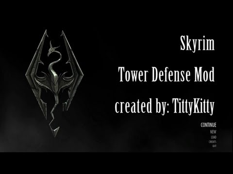Skyrim Tower Defense Mod!