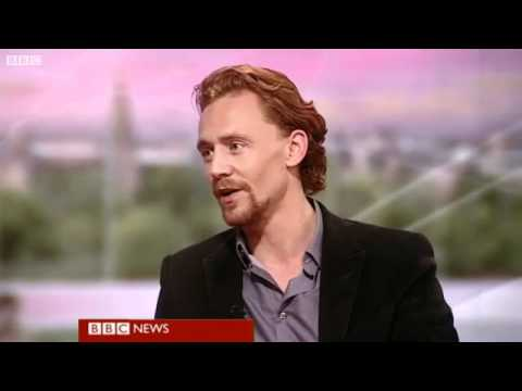 Tom Hiddleston on BBC Breakfast