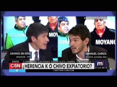 TV nacional. Gainza defendió a Macri en C5N