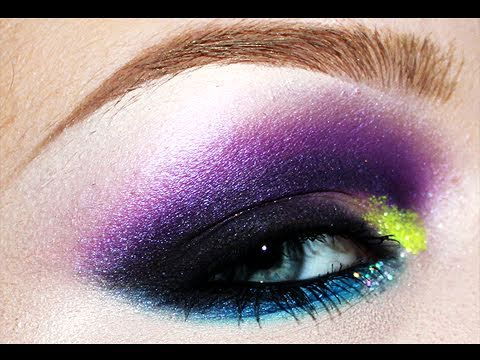 Disco Lights (Extreme Clubbing) Makeup Tutorial
